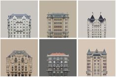 Gallery of Zsolt Hlinka's Urban Symmetry Photographs Reimagine Danube River Architecture - 1