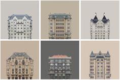Image 1 of 12 from gallery of Zsolt Hlinka's Urban Symmetry Photographs Reimagine Danube River Architecture. © Zsolt Hlinka