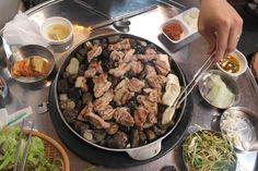 Stone Grilled Korean BBQ in Hongdae