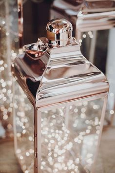 Rose gold lantern for the aisle by Modern Heritage Styling in Lincolnshire gold wedding decorations Where to start Gold Wedding Theme, Gold Wedding Decorations, Wedding Fair, Rose Wedding, Wedding Table, Wedding Ideas, Decor Wedding, Rose Gold Weddings, Wedding Centerpieces