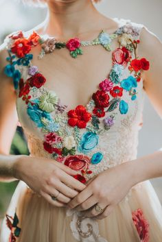 pie in the sky dress - Flower Bomb: Chotronette Editorial for Rock n Roll Bride Magazine Amazing Wedding Dress, Dream Wedding Dresses, Evening Dresses, Prom Dresses, Bridesmaid Dresses, Alternative Wedding Dresses, Flower Bomb, Mexican Dresses, Hip Hip