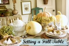 10 Thanksgiving Tablescape Ideas | Days of Chalk and Chocolate