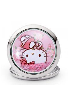 Genuine Cute Hello Kitty Compact Cosmetic Mirror