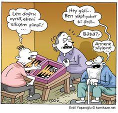 Dedem Sen Neymişsin Be! Finding A Hobby, Hobbies For Men, Medical Humor, Non Sequitur, College Humor, Ber, Calvin And Hobbes, Comic Artist, Comic Strips