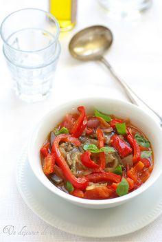 Minestrone Dauno des Pouilles (avec tomates, aubergines et poivrons)