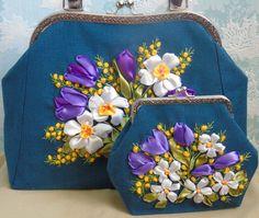 """Вышитые сумки """"Lady Style"""""""