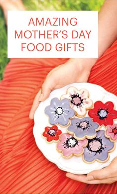 12 Mother's Day Food Gifts Homemade with Love | Martha Stewart Living - Breakfast in bed, check. Flowers, check. A gift? That's always harder. Whether your mom is a keen cook or she just loves a delicious treat, these food gifts, including heart-shaped cookies, heart-shaped tartlets, and unique teas, are guaranteed to make her heart melt. #mothersday #giftideas