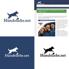 Hundeliebe.net - Blog #Logo design Inspiration Nr. 2