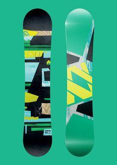 Völkl Snowboard Dash 2014 on Behance