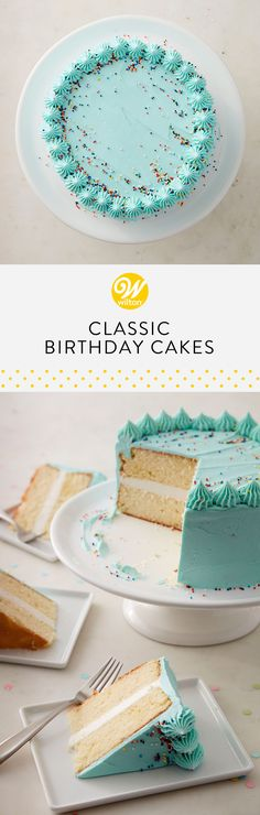 Sometimes a simple birthday cake done right is all you need! These classic birthday treat ideas will help you throw a party to remember! #wiltoncakes #birthday #birthdaypartyideas #birthdaycake #birthdaycakeideas #birthdaydesserts #birthdaytreatstotaketoschool #birthdaythemes #birthdaytreats #birthdaytreatsforschool #birthdayideas #birthdaypartyfood #birthdaykids #classicbirthdaycakes