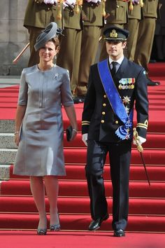 Princess Märtha Louise of Norway with Prince Carl Philip of Sweden
