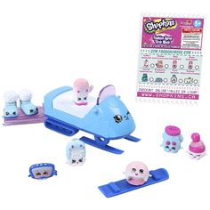 """Toys """"R"""" Us - Shopkins - Season 5 - 8 Pack - Fashion Collection - Frosty"""
