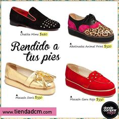 ¡Nadie se te va a poder resistir con estos zapatos!    Encontralos en www.tiendadcm.com/products/list/brand/21182