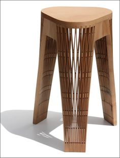 The Design Walker • CRAFTMANSHIP | CNC Stool: Wooden Benches, Anson...