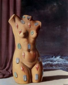 Rene Magritte - The Drop of Water, 1948