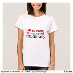 So proud to be from COLORADO