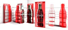 Retail Stand design by Dimitris Tsagkos, via Behance We deliver advertising…