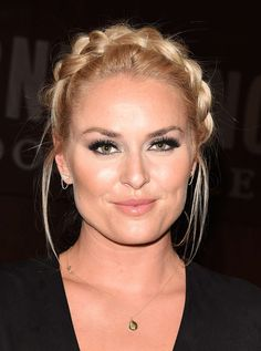 Lindsey Vonn at Strong Is the New Beautiful Book Signing -03