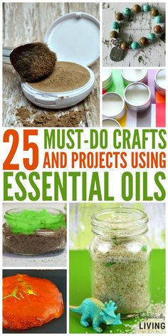 25 Crafts and Projects Using Essential Oils Simplistically Living