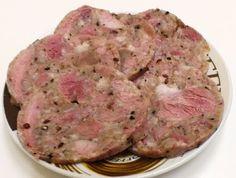 domowe smakołyki: Salceson Golonkowy