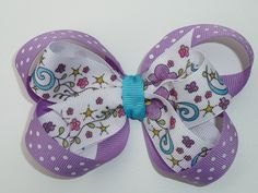 Stacked Boutique Hair Bow