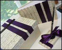 Musical ideas for guest book etc.