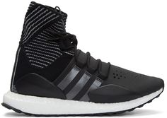Y-3 SPORT - Black Approach Reflect High-Top Sneakers