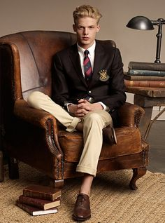 Just like the chair set up. Not this boarding school uniform.