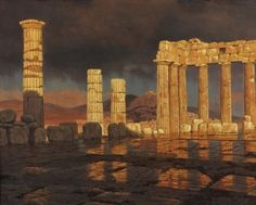 After the Storm, Parthenon, Athens, Ivan Fedorovich Choultsé