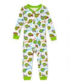 Green Teenage Mutant Ninja Turtles Footie - Infant & Toddler
