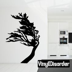 Tree Wall Decal - Vinyl Decal - Car Decal - 042