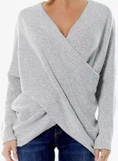 Latest fashion trends in women's Sweaters. Shop online for fashionable ladies' Sweaters at Floryday - your favourite high street store. Womens Fashion For Work, Trendy Fashion, Fashion Tips, Women's Fashion, Classy Fashion, Fashion 2018, Fashion Ideas, Fashion Outfits, Fashion Design