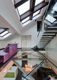 35 Amazing Floating Glass Stairs In My House - Page 9 of 36