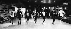 all of b.t.s members, dancing, v, j-hope, jungkook, jin, jimin, rap monster, suga