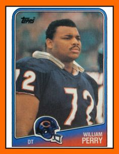 Old School Panini USA: William « The Fridge » PERRY