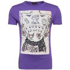 T-Shirt mit Print ab 14,90 € Hier kaufen:  http://www.stylefru.it/s615580 #lila #print