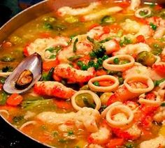 Seafood Stew – Recipes Now, Quick, Easy and Simple Cooking … – The World Easy Cooking, Cooking Recipes, Healthy Recipes, Fish Recipes, Seafood Recipes, Seafood Stew, Portuguese Recipes, International Recipes, Food Hacks