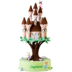 How to make a Fairyland Forest Cake.