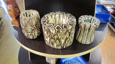 Interesting material that could be used in product design: New Zealand fern wood