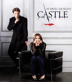 Poster winner off the Castle fan site. Castle Series, Castle Tv Shows, Watch Castle, Entertainment Jobs, Castle 2009, Seamus Dever, Richard Castle, Castle Beckett, Celebrities Then And Now