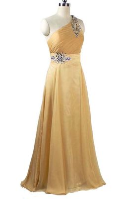FairOnly Stock One Shoulder Cocktail/Evening Dress Prom Gown Size6 8 10 12 14 16