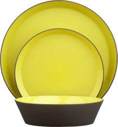 grass roots dinnerware in dinnerware | CB2