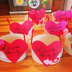 Love bug valentine hat