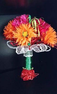 Buchet flori handmade- Concurs flori de toamna Crafty