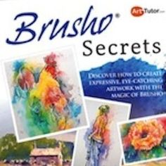Discover how to paint striking, loose artwork with the magic of Bruso
