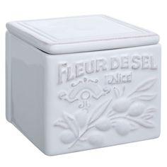 Brissi Provence Fleur De Sel Salt Storage Jar. $26