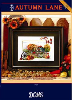 Good Life 2 Go: Free cross stitch pattern: Autumn Lane
