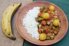 Une excellente recette cubaine à base de gombos et de bananes plantains. Comme toujours, et même pour la cuisine exotique, tout est avant tout question de bons produits...