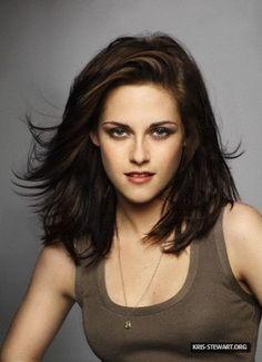 Brunette Hair and Shoulder-length Hair Photograph