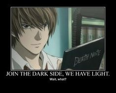 Death Note Light... Loryn this is what i was talking about in class XDD